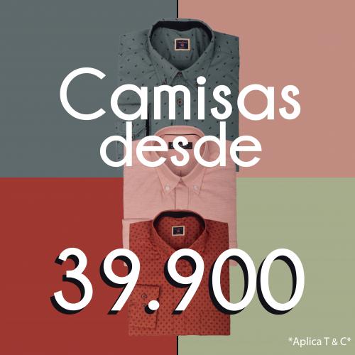CAMISAS 39.900 PARA REDES